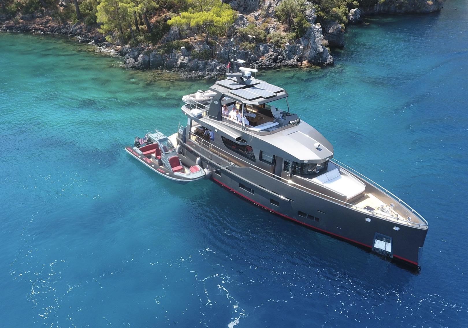 bering-70-and-hysucat-cruise-turkey-west-coast
